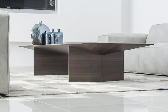 אוריגמי שולחן קפה מעוצב