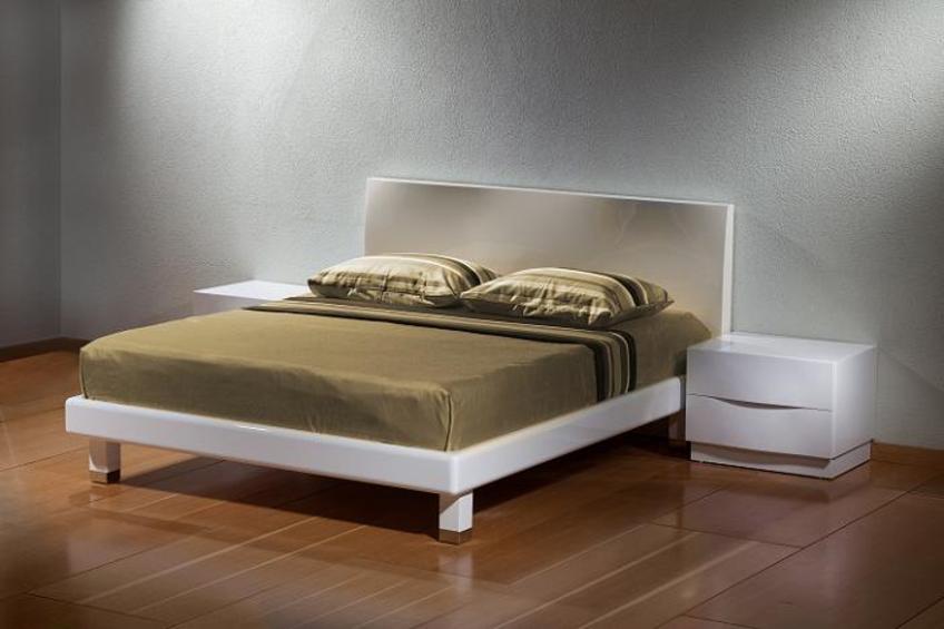 משי חדר שינה מעוצב מודרני