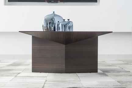 אוריגמי - שולחן מעוצב לסלון