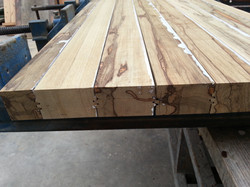 round table - african walnut-8