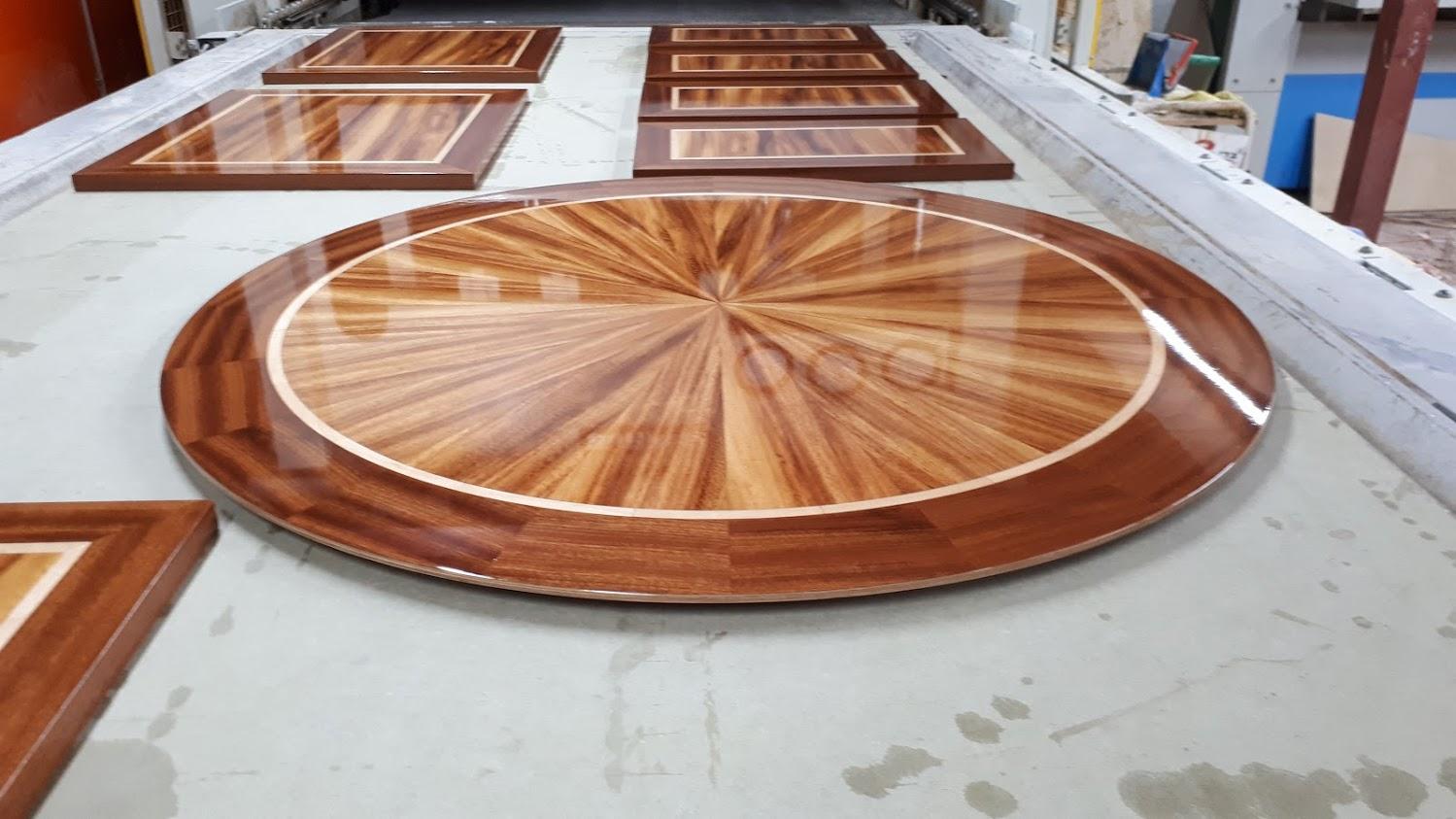 שולחן עגול לסלון