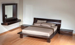 חדר שינה מעוצב מודרני