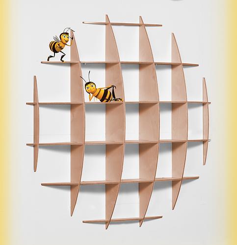 שח רהיטים | ספריות | כוננית מדפים עגולה