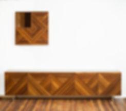 מזנון לסלון תלוי - מזנון מעוצב