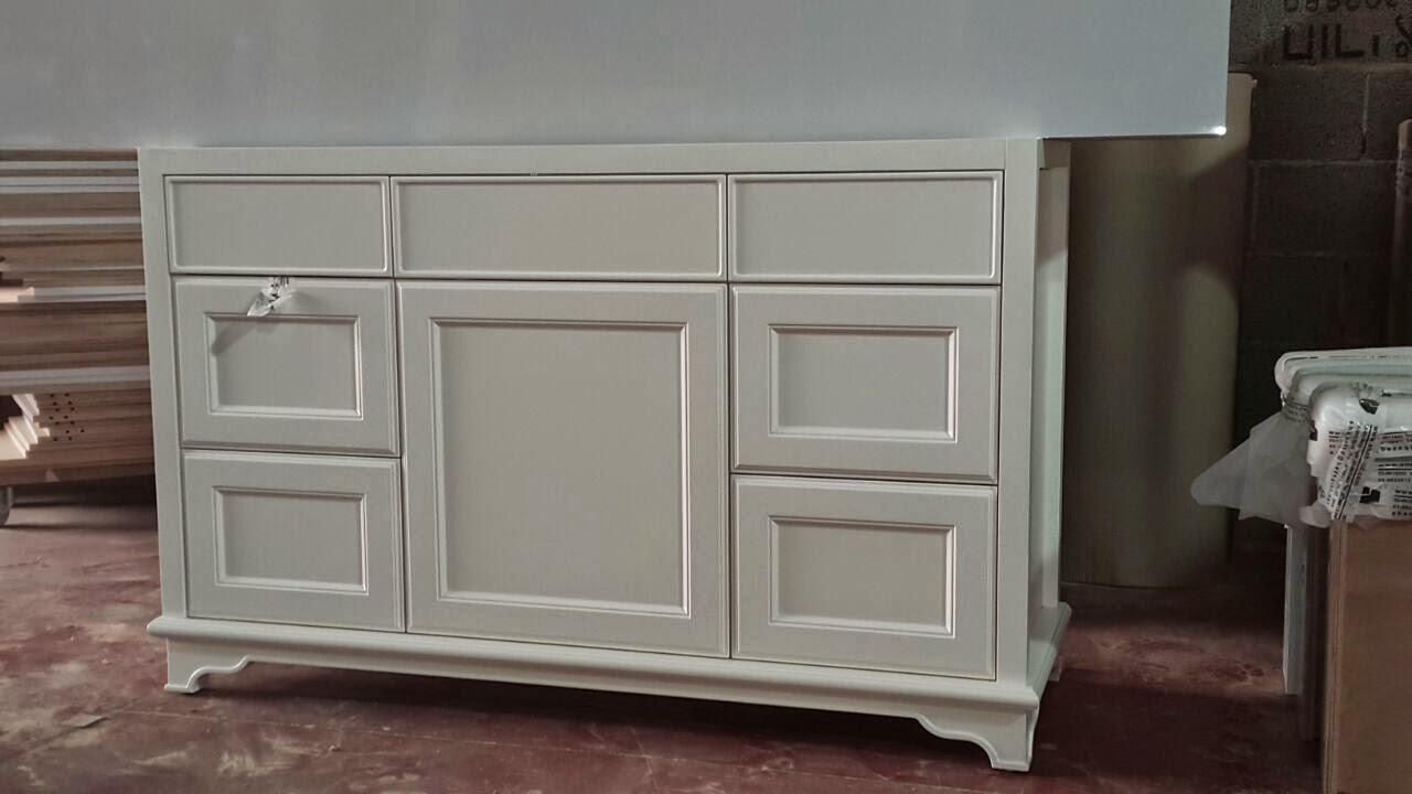 ארון אמבטיה פרובנס לבן