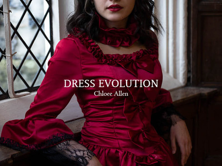 Dress Evolution   My First Photography Book   cavaphotography