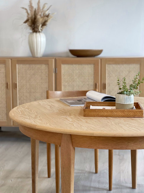Skovmand Andersen spisebord Ø125 cm.