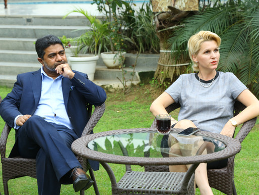 Billionaire Industrialist Abhishek Verma & Anca Verma Motivate Olialia PanMasala Area Sales Managers