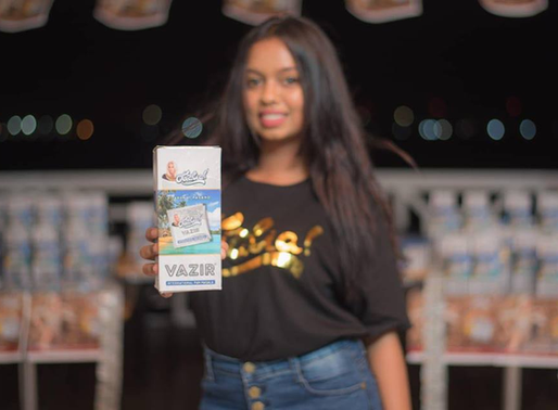 Olialia Vazir is leading the Pan Masala Market in the Maldives