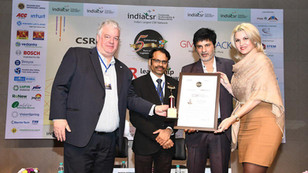 AncaVerma philanthropist was conferred with the Industrialist of the year CSR Leadership AwarD