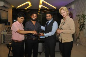 Billionaire Abhishek Verma And Anca Verma Inaugurates Online Business News Portal