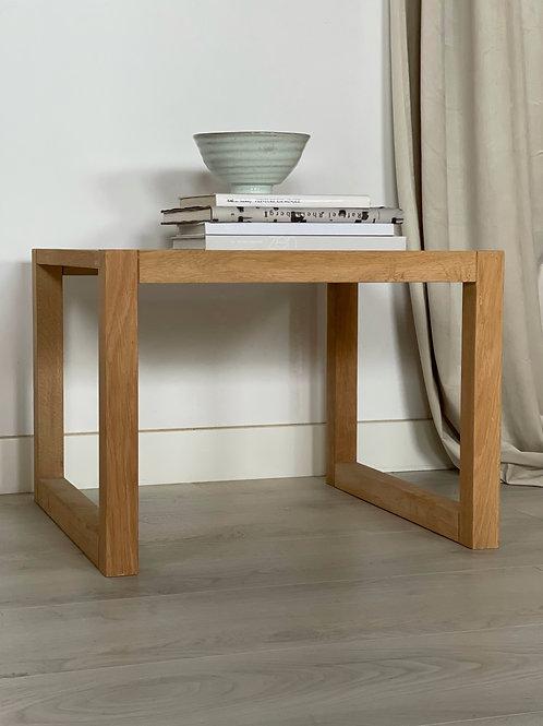 Kubistisk sofa/sidebord
