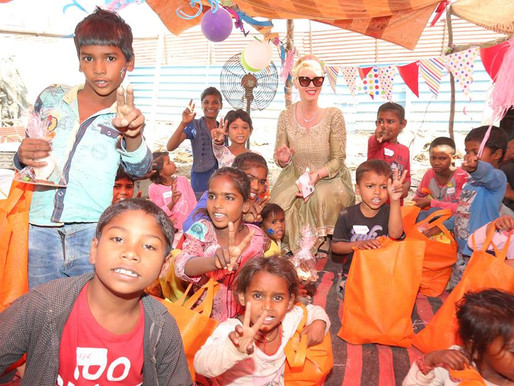 Chairperson Anca Verma celebrated Easter with under privileged children in New Delhi