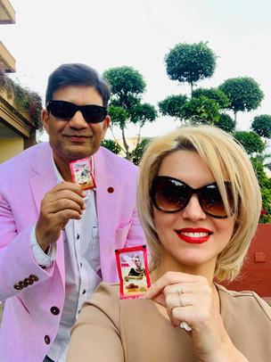 Billionaire Abhishek Verma and Anca Verma's Sunday Afternoon Lunch