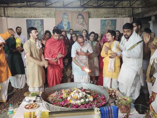 1100 Parthiv Shivling worshiped by Jyotishacharya Pandit Mitesh Pandey