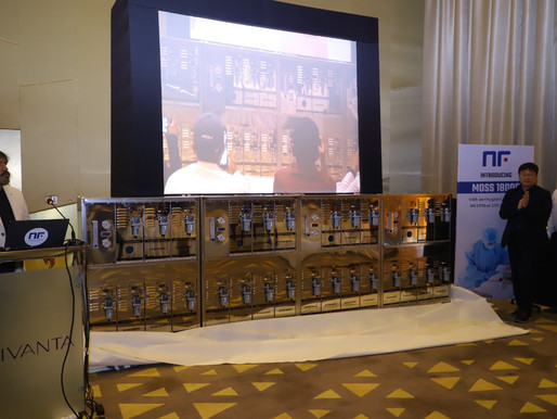 NF Healthcare, the leading South Korean Oxygen Solutions brand, launches Oxygen generators in India