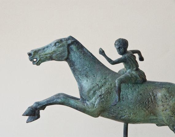 Greek Horse & Jockey