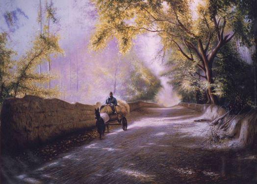 © Ali Pourahmad, 2002 oil painting