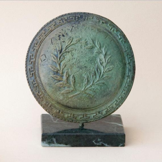 Bronze Greek Shield