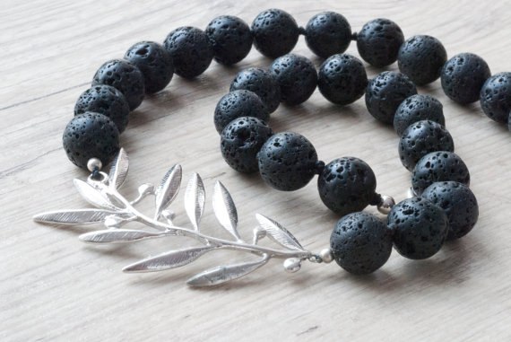 Lava Greek Necklace
