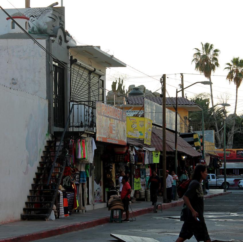 Back streets.