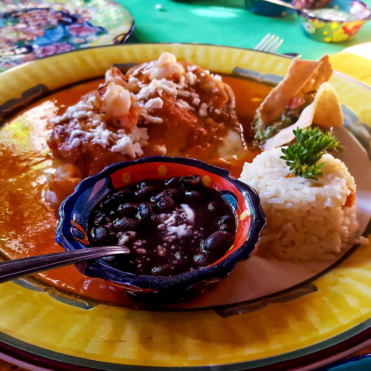 Shrimp Chili Relleno