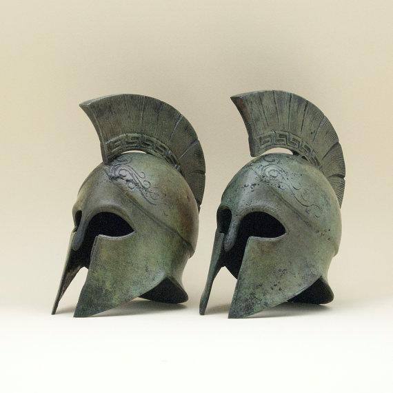 Greek Bronze Helmet
