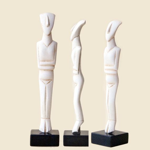 Greek Cycladic Figurine