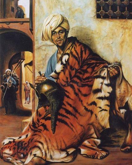 © Ali Pourahmad, Oil color painting