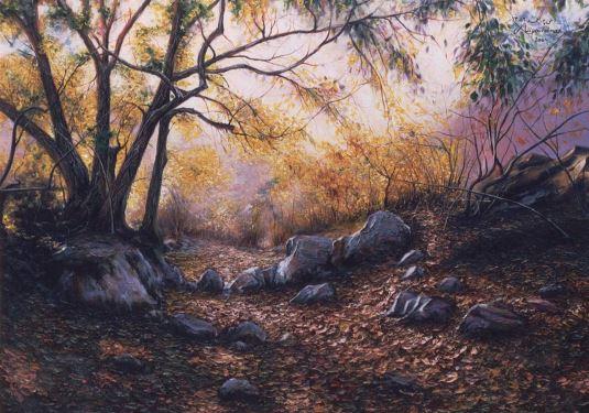 © Ali Pourahmad, 2003 oil painting