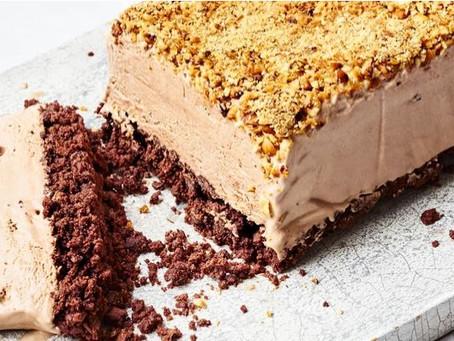Frozen Chocolate & Hazelnut Cheesecake