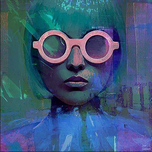 Pink Glasses Girl
