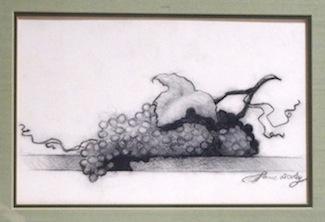 Grapes On A Ledge