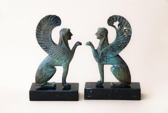 Bronze Mythic Sphinx