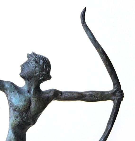 Archer Bronze Statue