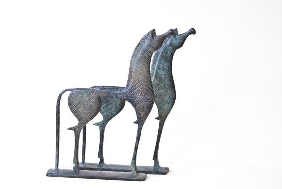 Greek Horse Sculpture