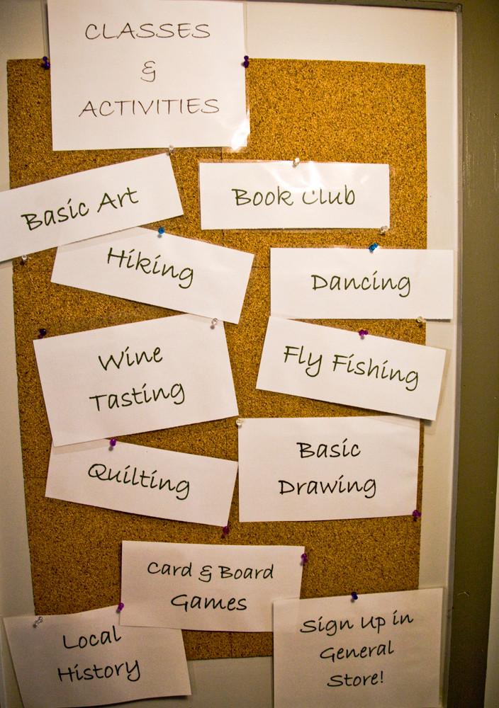 Classes & Activities