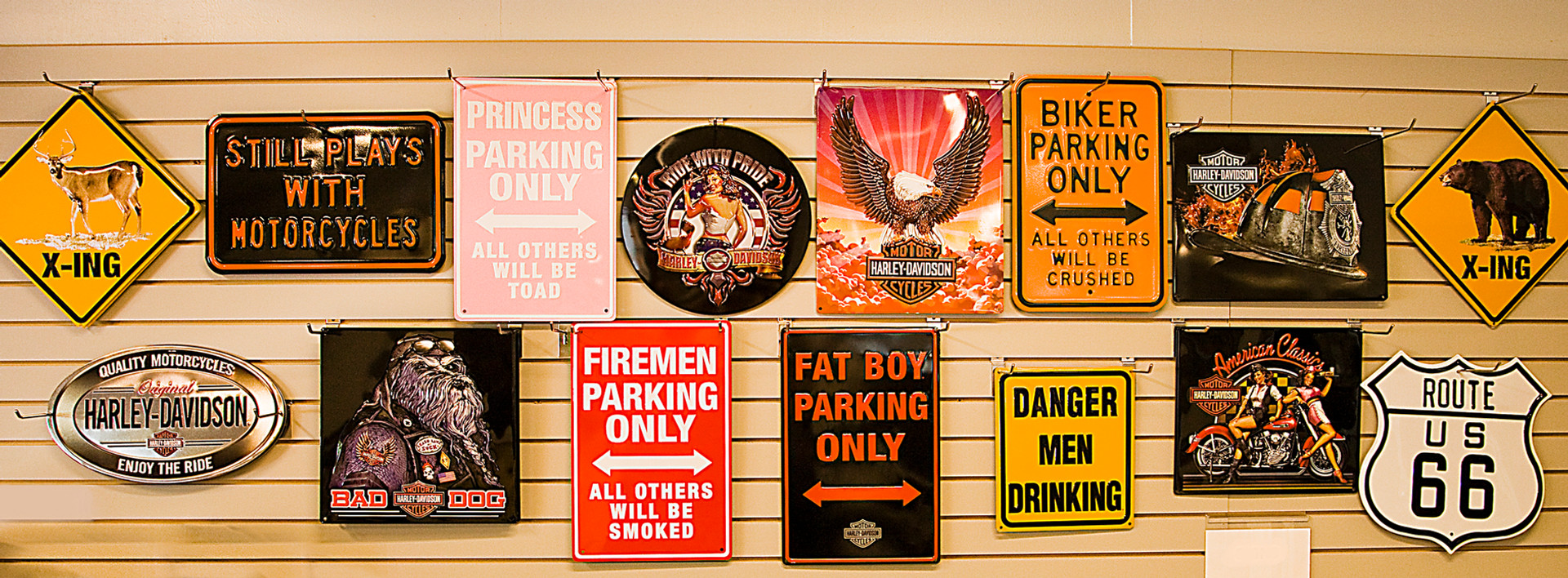 Signs for Sale in General Store