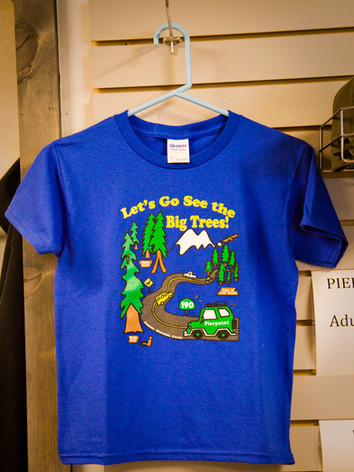 Let's Go See the Big Trees Kids T-shirt