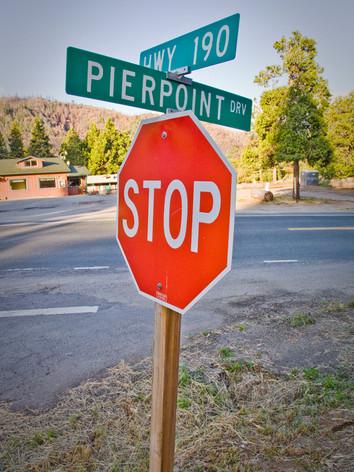 Pierpoint on Highway 190