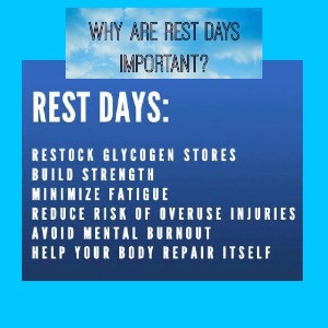 We Need a Rest Day- Signs and Symptoms of Overtraining
