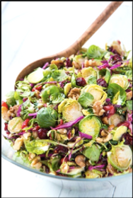 Brussel Sprout Cabbage Cherries Walnuts