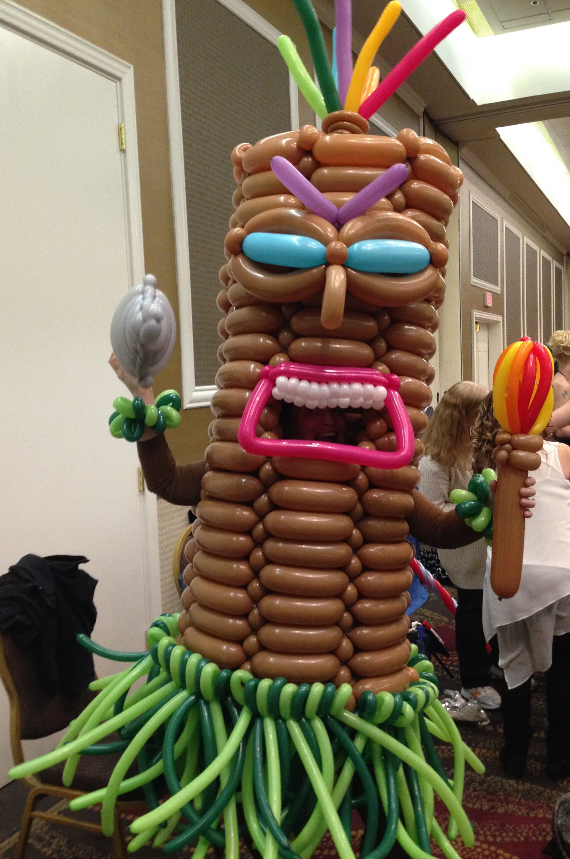 Balloon Tiki Man