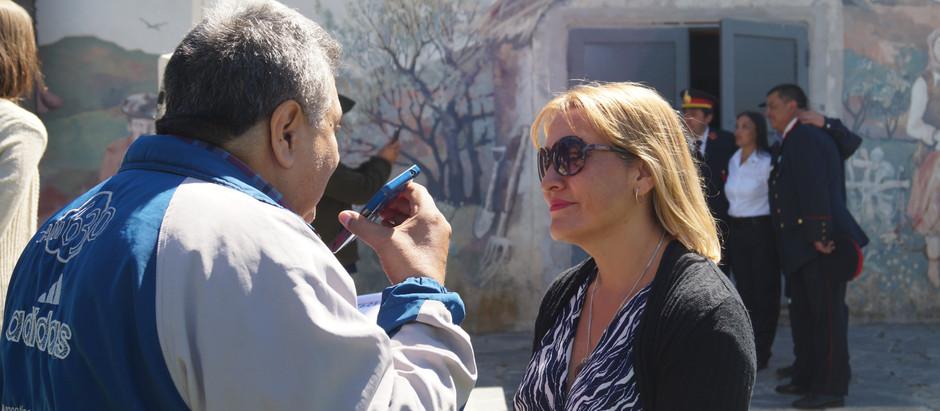 Matzen recibe al ministro Frigerio y al gobernador Cornejo