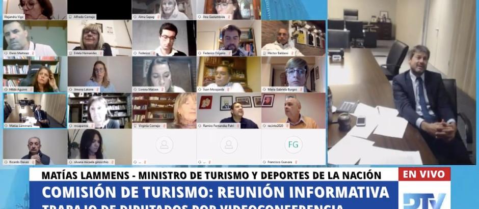 Lorena Matzen le solicitó mayor acompañamiento al Ministro de Turismo y Deportes, Matías Lammens