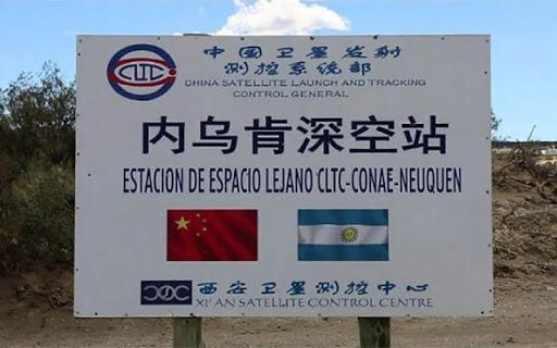 LA BASE ESPACIAL CHINA DEBE PAGAR IMPUESTOS COMO CUALQUIER ARGENTINO