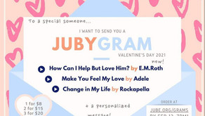 Order a Jubygram For a Special Someone!