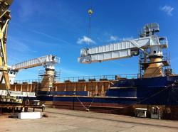 Ship unloader