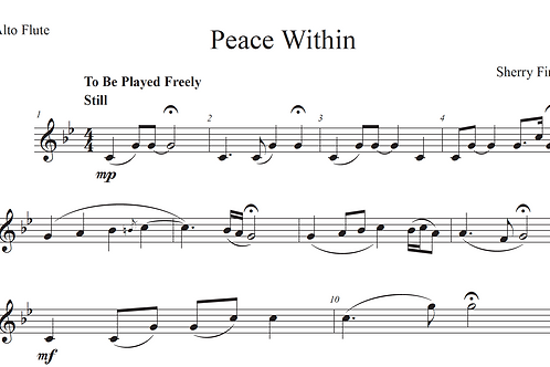 Peace Within - Leadsheet