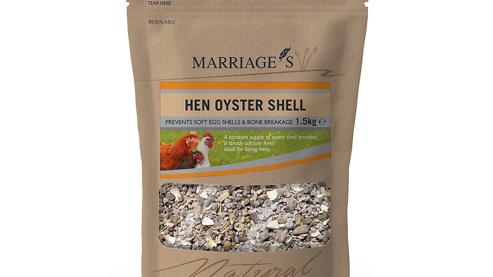 Marriage's Hen Oyster Shell Grit 1.5kg